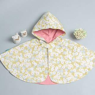Double-sided cloak - Marseille geometric hand made non-toxic jacket baby children's clothing