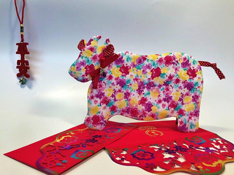 Fantasy【棉布】牛轉乾坤紅包袋~春天玫瑰