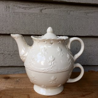 Lace Huadiao teapot Cup group