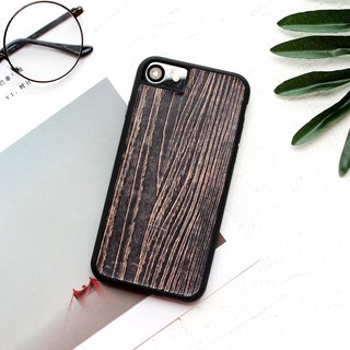 Such as 玮 玮 鞣 鞣 first layer of leather black tree texture hand dyeing series iphone6 ​​7 8 plus i6 i7 i8 iphone x Apple leather mobile phone case cover surrounded by drop