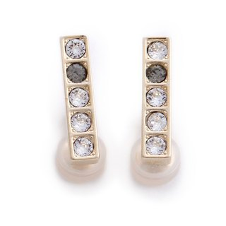 [JewCas] Air Earrings Series Crystal Air Ear Clips_JC2441