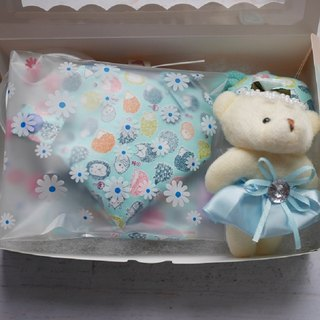 Hedgehog Miyue Gift Box to appease the towel pacifier storage bag bear doll