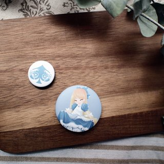 Badge group ▌ Alice in Wonderland ▌Alice poker money