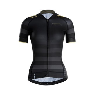 Classic Stripes Jersey - black gold - lady