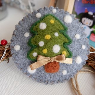 sleeping original handmade Christmas day, I love you Christmas confession I love you [small Christmas tree] purse