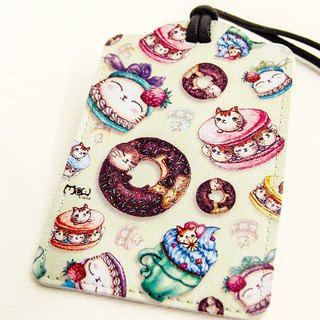 Good meow Universal Card Case - Comprehensive cat dessert