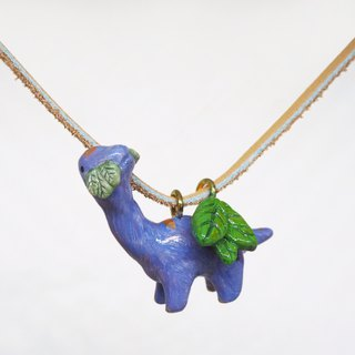腕龍手工手繪頸鏈 Brachiosaurus handmade necklace