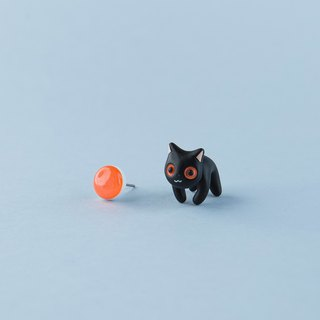 Bombay Cat - Polymer Clay Earrings, Handmade&Handpaited Catlover Gift
