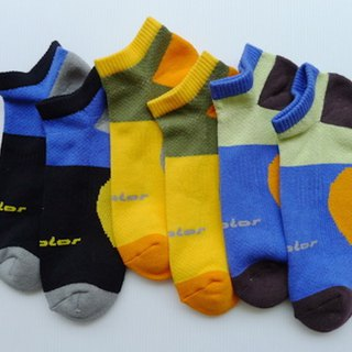 Cotton function professional air jogging socks (male) Jin black (tri-color optional)