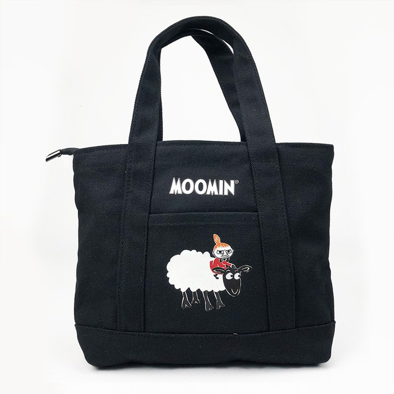 Moomin 噜噜米 authorized - Japanese small pocket bag (black), AE01