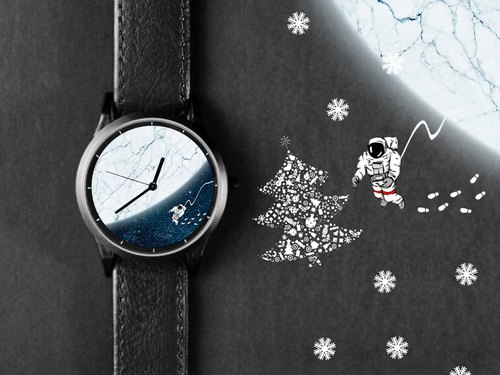 Christmas Year-end Illustration Watch Surprise Blessing Bag - Exchange Gift for $ 1500