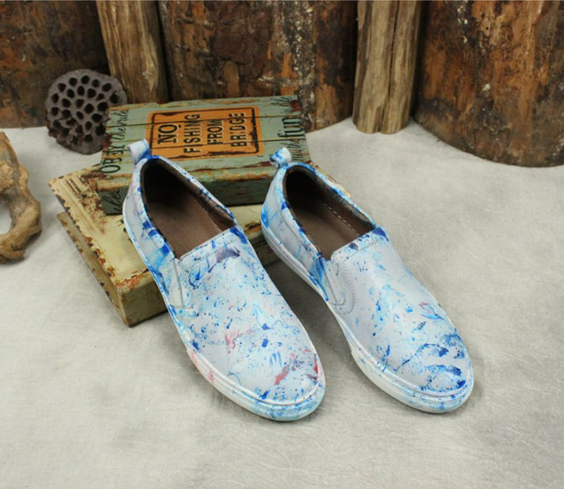 Comfortable soft bottom loafers lazy shoes casual shoes