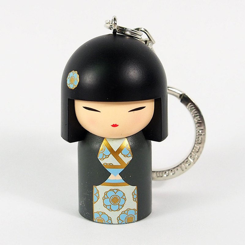 Key ring-Chizuru humble power [Kimmidoll and Fu doll key ring]