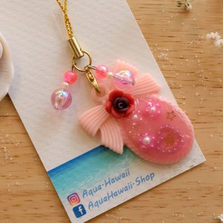 Eternal Pink Rose Romantic Gift Key ring charm for Best Gift