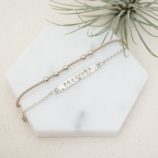 YES! I CAN Sterling Silver Bracelet