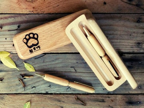 [Kan Ken Woodworking Workshop]//Customization// Hand-made Styling Pen+Pen Box