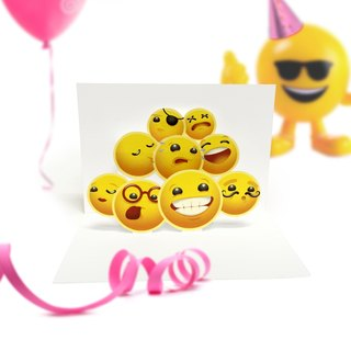 Smile Card | Smilie Card | Happy Card | Happy Pop Up Card