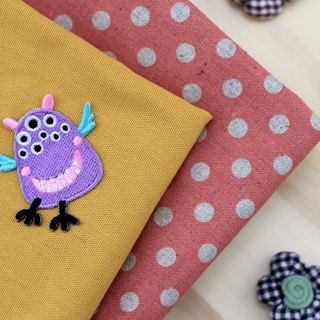 Love dream fly self-adhesive embroidered cloth stickers - Monster Planets whimsical world series