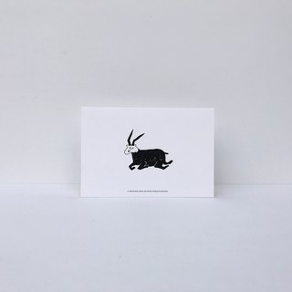| Sheep | forest cancan card (with envelope)