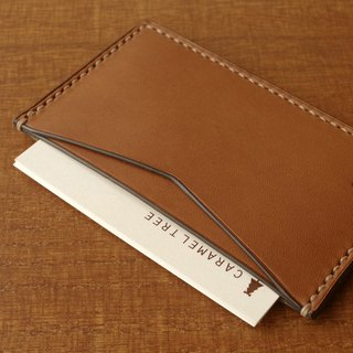 【受注生産】Business Card Case(slim-type)/brown