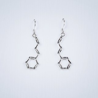 [Chemical Beauty] cinnamon earrings