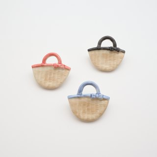 Basket brooch