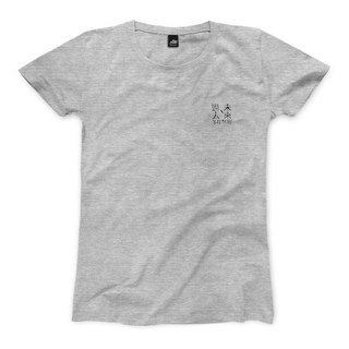 Past useless in the past - Dark Grey - Female T-shirt