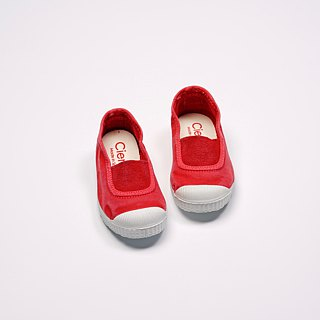 Spanish national canvas shoes CIENTA children's shoes size wash old red fragrant shoes 75777 49
