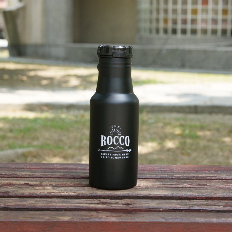 [DESTINO STYLE] Japan ROCCO Flip Cap Insulation / Cold Water Bottle 500ml
