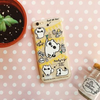 iPhone Case / Soft Shell / Cool Cat / Authorized / Gift / Refreshing Picnic / Cat