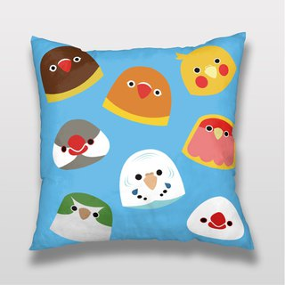 Bird LET'S PARTY Pillow