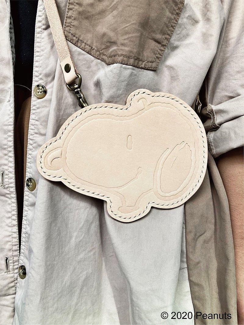 Peanuts x 港產皮革 卡片套 皮革DIY材料包 SNOOPY 證件套 咭套