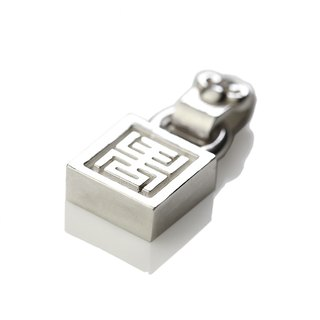 Silver ink NEROSILVER - FH-LLL11 longevity lock long life [925] silver jewelry necklaces Chinese style / manual silver