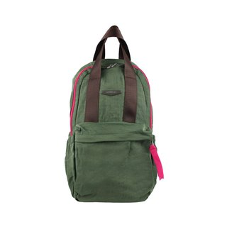 "After dark green lightweight backpack BODYSAC ""b652"""