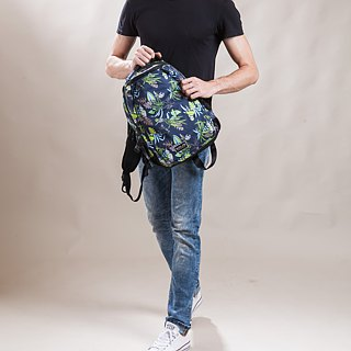 "SOLIS [ Paradise Series ] 13"" REISE basic laptop backpack(Tropical Green)"