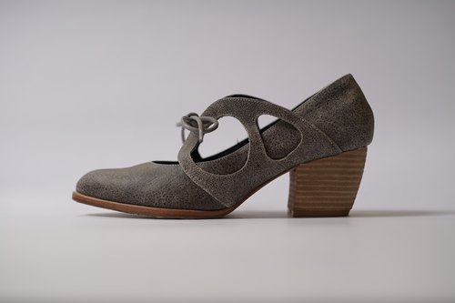 ZOODY / profile / handmade shoes / with straps shoes / brown