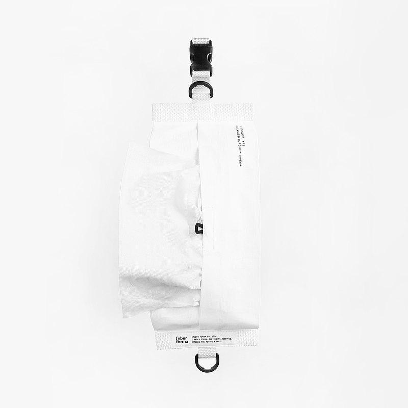 TS01吊掛式衛生紙套 標準/白 面紙套