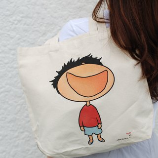 Cotton Canvas Bag - Laugh
