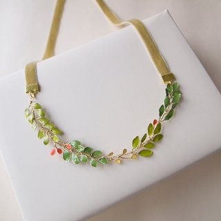 Aramore Autumn Leaves Necklace