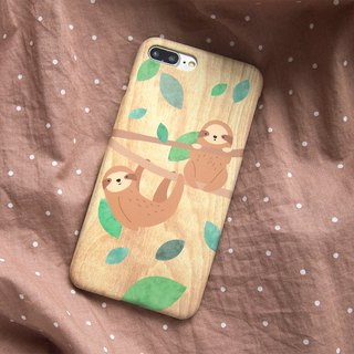 Lazy Sloths iPhone case