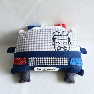 Homycat police car pillow