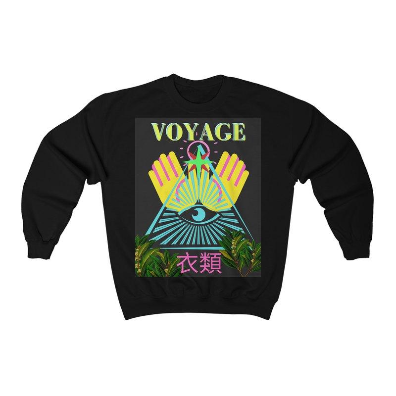 神在叢林中!獨特設計,帶來獨特舒適品質的圓領汗衫