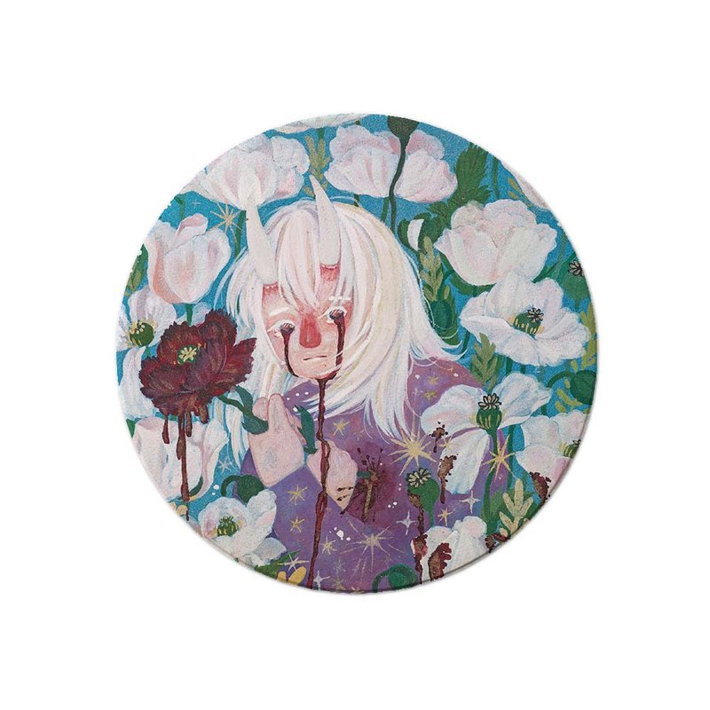 │My and my melancholy My Depression Artist Series│- Absorbent Ceramic Coaster