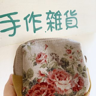 [Good day hand made] Handmade. Romantic flowers. Pocket storage bag.