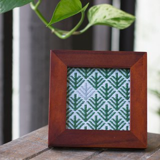 Handmade embroidery photo frame decoration furniture accessories