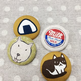 Cloth small badge