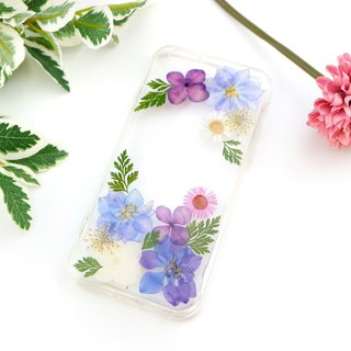 Pressed Real flower phone case - for iphone 5/5s/SE/6/6s/6 plus/6s plus/7