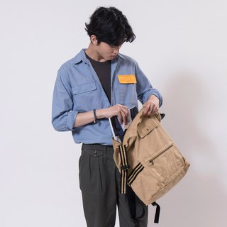 【ad-lib】2-way Backpack - Khaki//Olive (BA147)