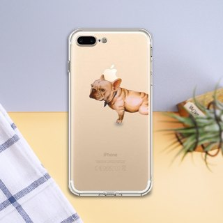 Ice Shell - Hairy Child [Bulldog] - iPhone (iPhone 6/7 Plus) - Original Mobile Phone Case / Case / Drop Case / Phone Case