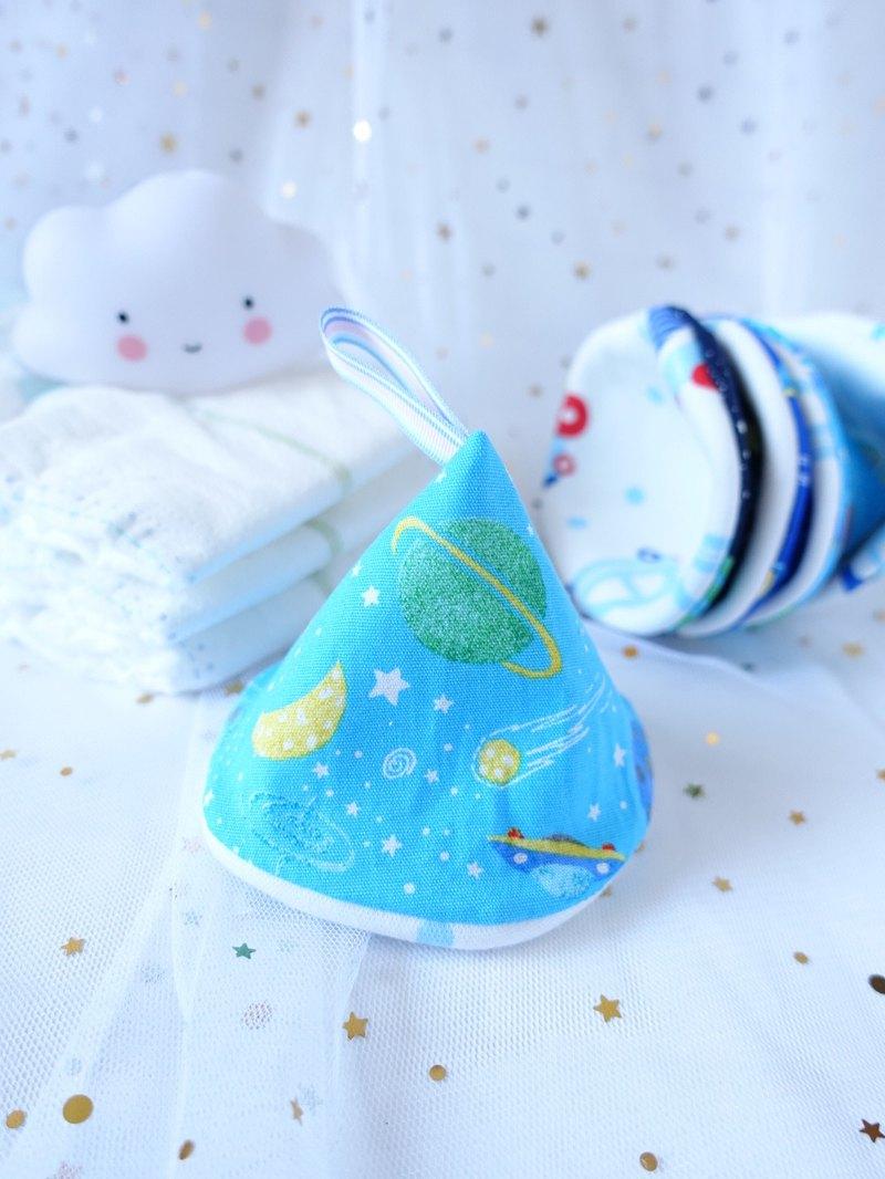 男寶寶換片防尿隔尿保護套 太空世界 淺藍色